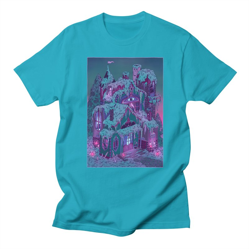Winter House Men's Regular T-Shirt by Valeriya Volkova
