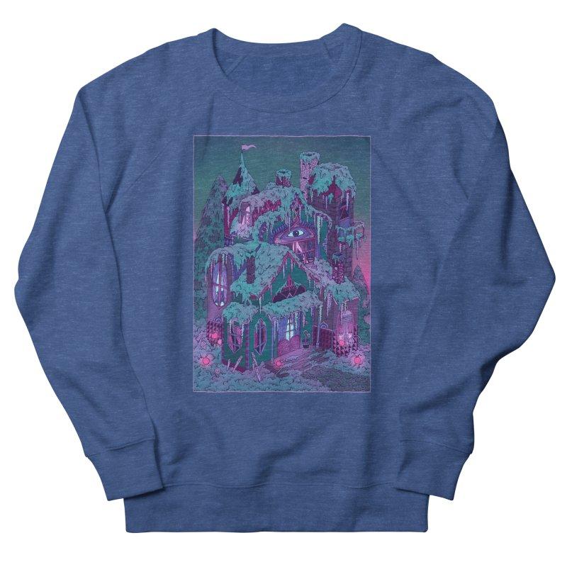 Winter House Women's French Terry Sweatshirt by Valeriya Volkova