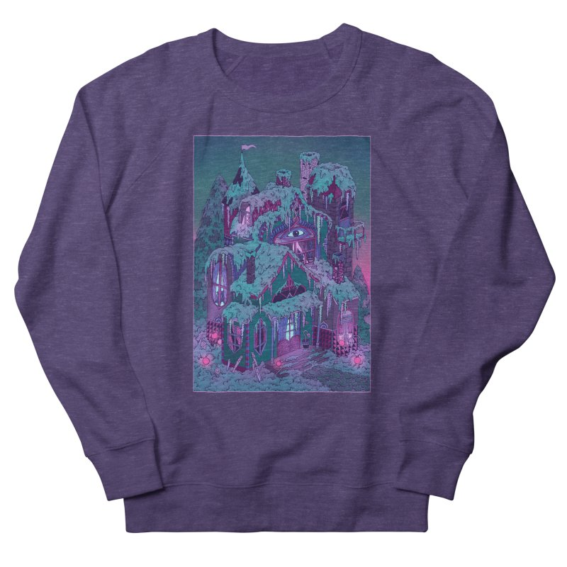 Winter House Men's French Terry Sweatshirt by Valeriya Volkova
