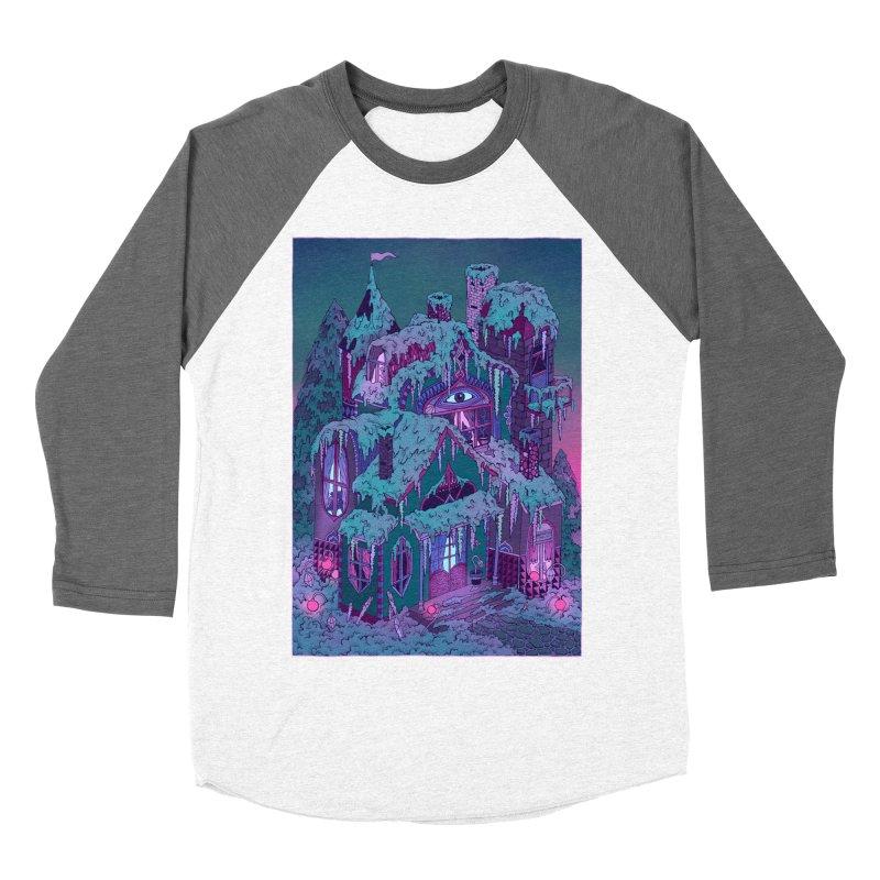 Winter House Women's Baseball Triblend Longsleeve T-Shirt by Valeriya Volkova
