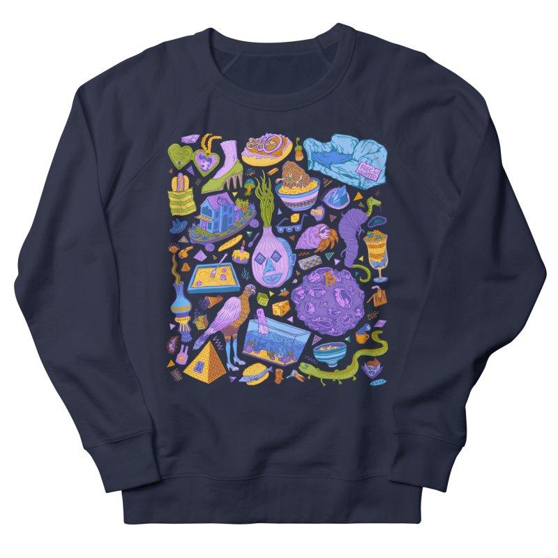 Zen Garden Men's French Terry Sweatshirt by Valeriya Volkova