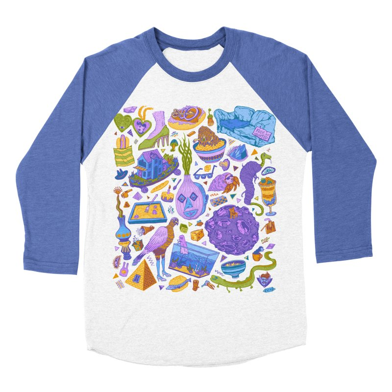 Zen Garden Women's Baseball Triblend Longsleeve T-Shirt by Valeriya Volkova