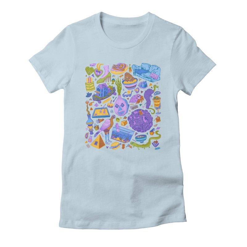 Zen Garden Women's Fitted T-Shirt by Valeriya Volkova