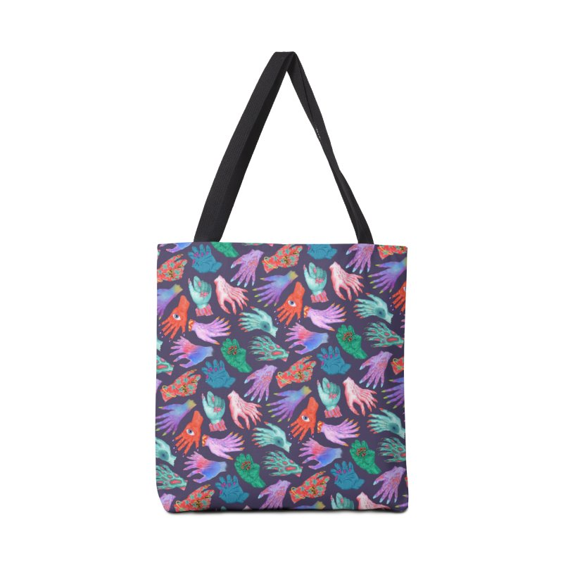 Monster Manicures Accessories Tote Bag Bag by Valeriya Volkova