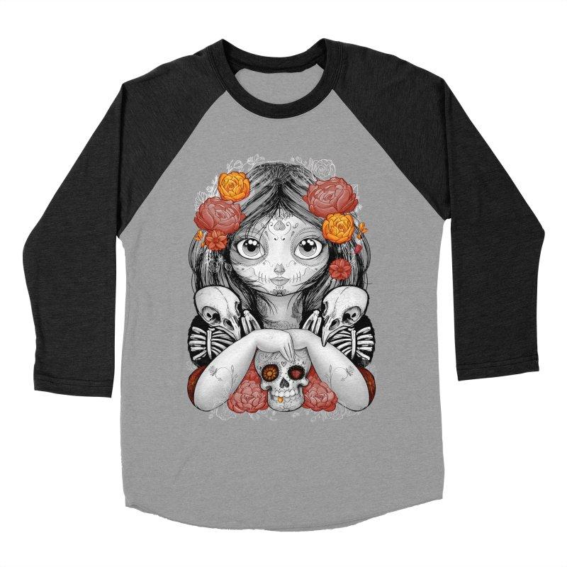 cuervos y amor Women's Baseball Triblend T-Shirt by valterferrari's Artist Shop