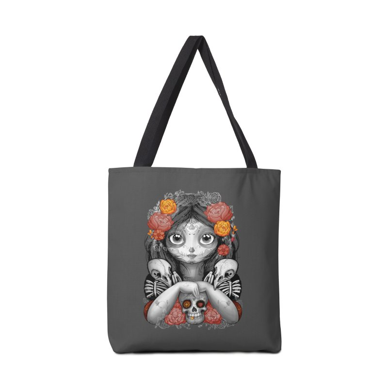 cuervos y amor Accessories Bag by valterferrari's Artist Shop