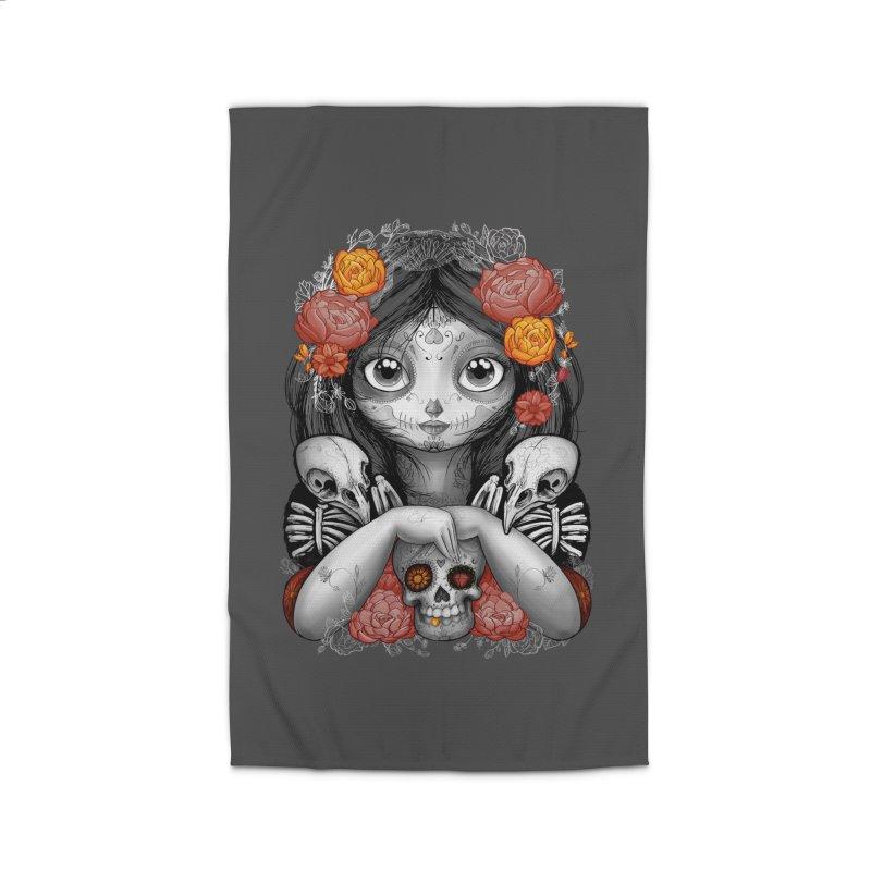 cuervos y amor Home Rug by valterferrari's Artist Shop