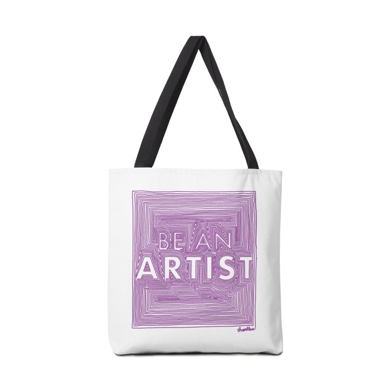 Be An Artist Accessories Bag by Threadless Values