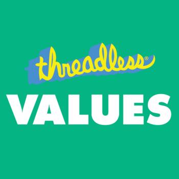 Threadless Values Logo