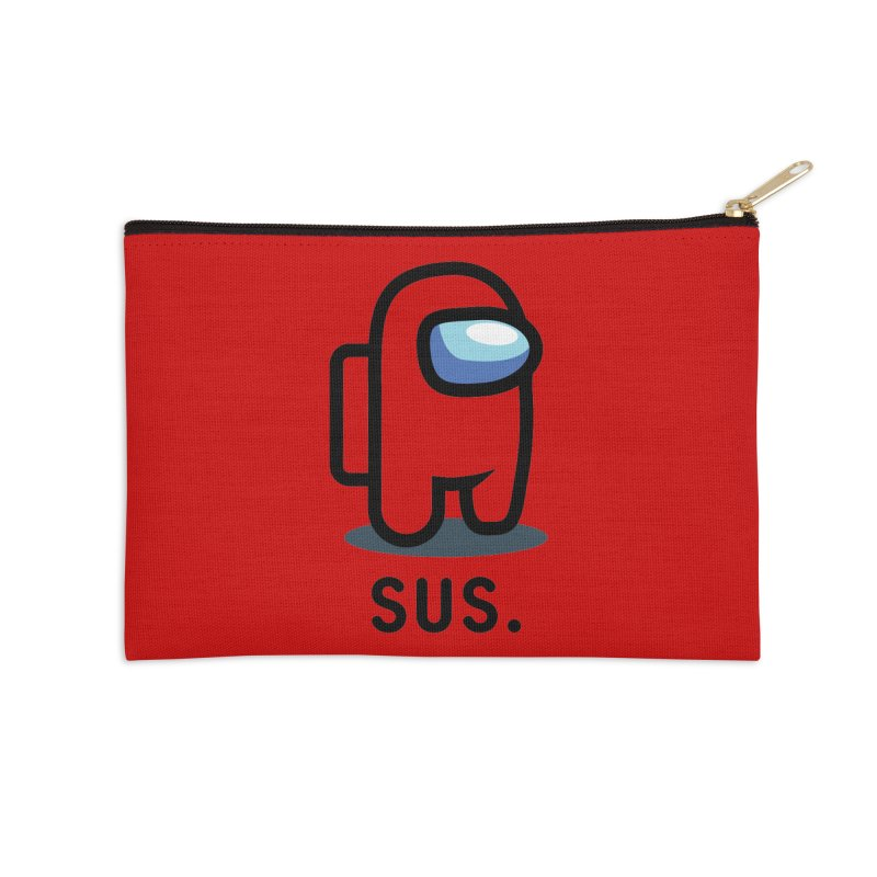 SUS Among Us Accessories Zip Pouch by Vamp Dearie
