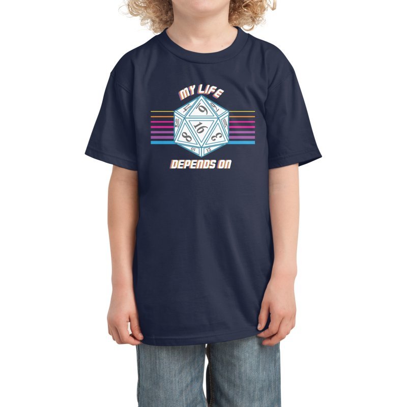 My Life depends On Kids T-Shirt by Vamp Dearie