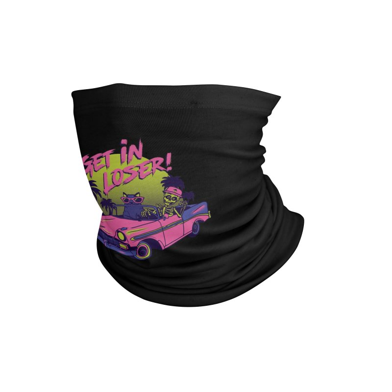 Get in Loser! Were Going Reaping! Accessories Neck Gaiter by Vamp Dearie