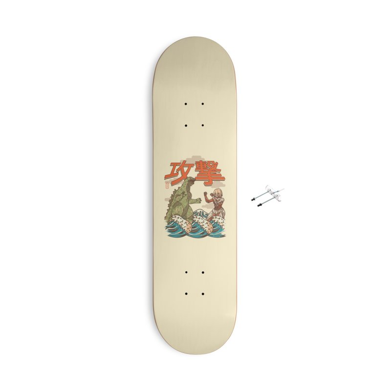 Attack Giants Accessories Skateboard by Vamp Dearie