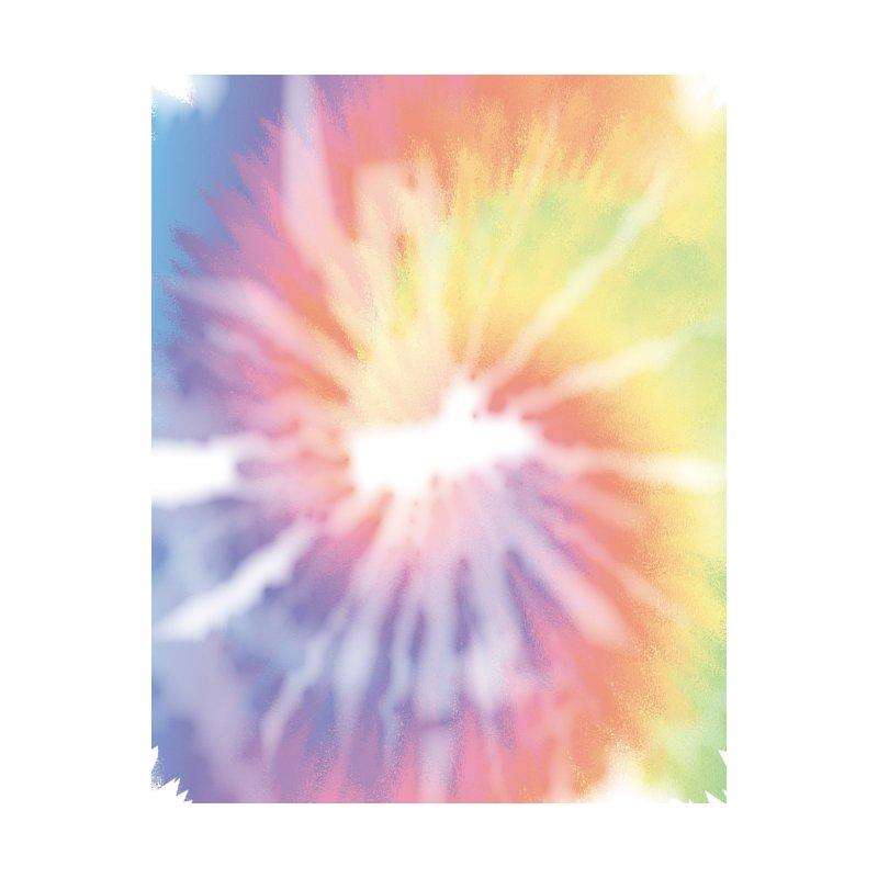 Rainbow Tie Dye Pastel Pride Men's Cut & Sew by Vamp Dearie