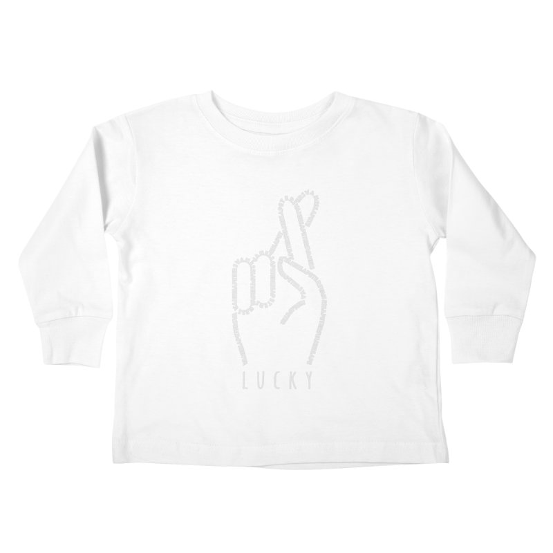 Lucky Kids Toddler Longsleeve T-Shirt by Vanessa Peters's Artist Shop