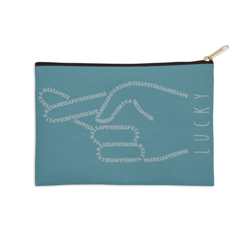 Lucky Accessories Zip Pouch by Vanessa Peters's Artist Shop