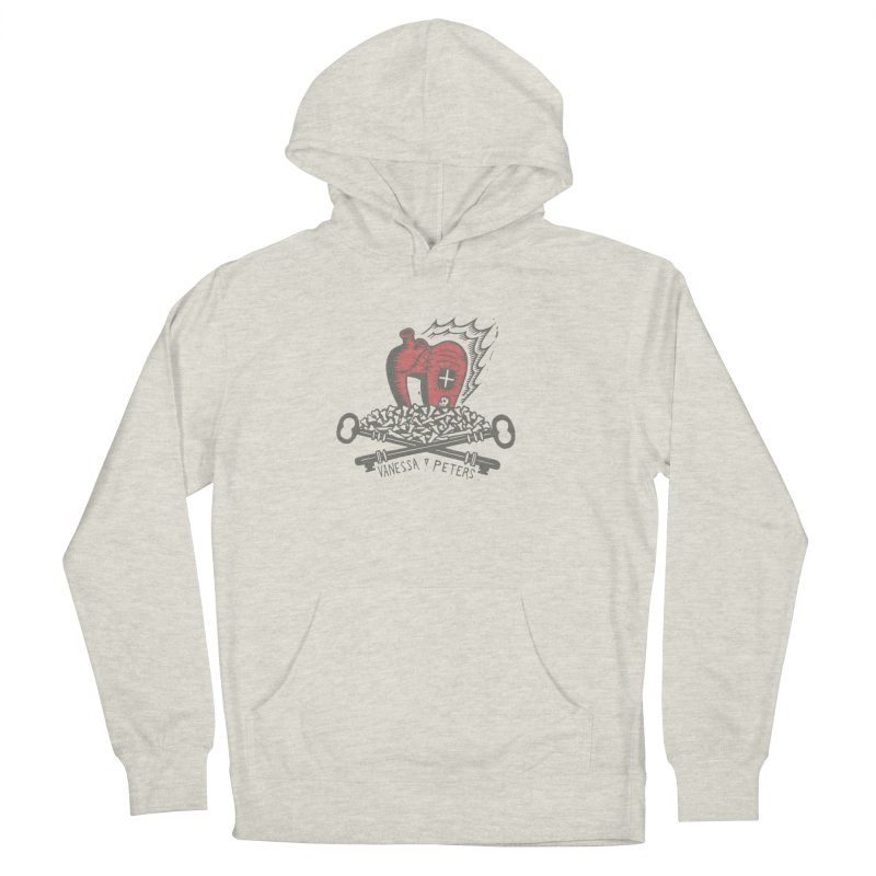 206 Bones Men's French Terry Pullover Hoody by Vanessa Peters's Artist Shop