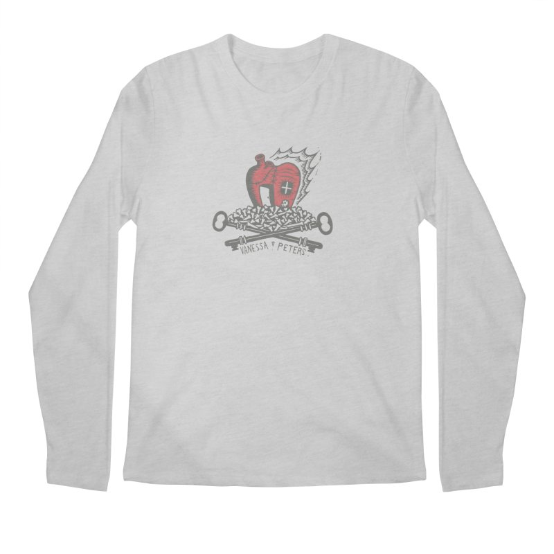 206 Bones Men's Regular Longsleeve T-Shirt by Vanessa Peters's Artist Shop