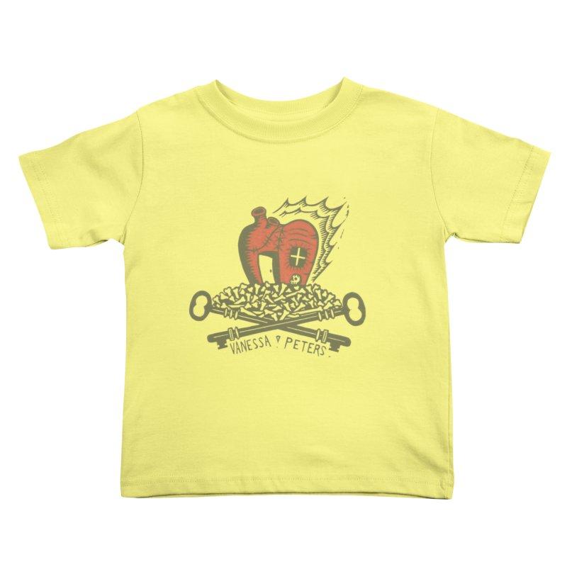 206 Bones Kids Toddler T-Shirt by Vanessa Peters's Artist Shop