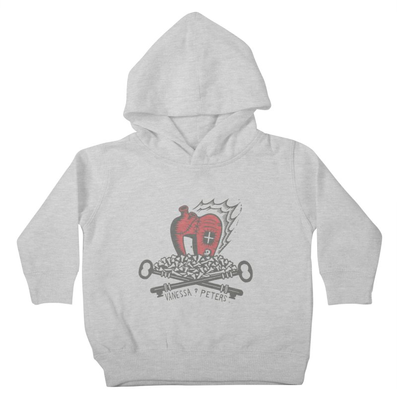 206 Bones Kids Toddler Pullover Hoody by Vanessa Peters's Artist Shop