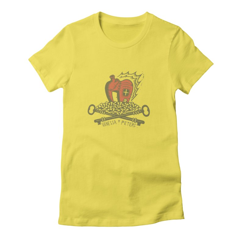 206 Bones Women's T-Shirt by Vanessa Peters's Artist Shop