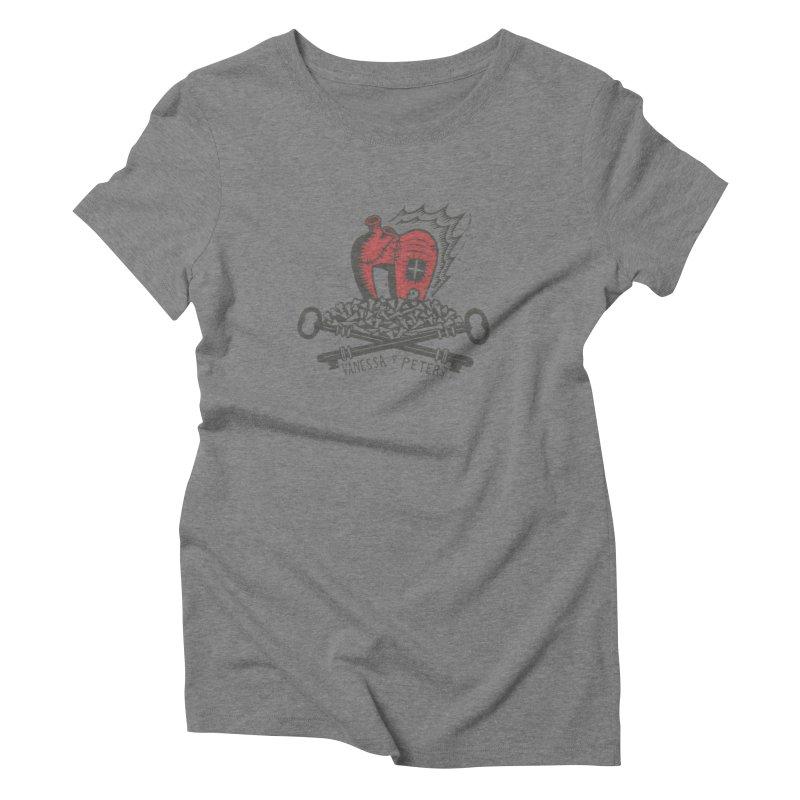 206 Bones Women's Triblend T-Shirt by Vanessa Peters's Artist Shop