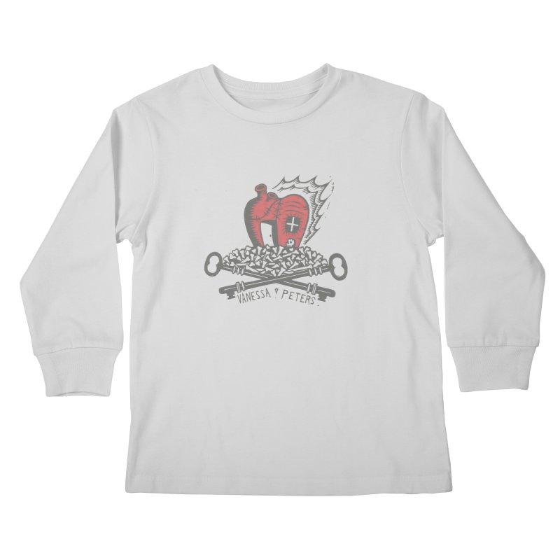 206 Bones Kids Longsleeve T-Shirt by Vanessa Peters's Artist Shop
