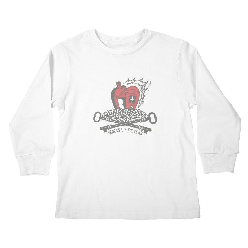 206 Bones Kids Longsleeve T-Shirt by vanessapeters's Artist Shop