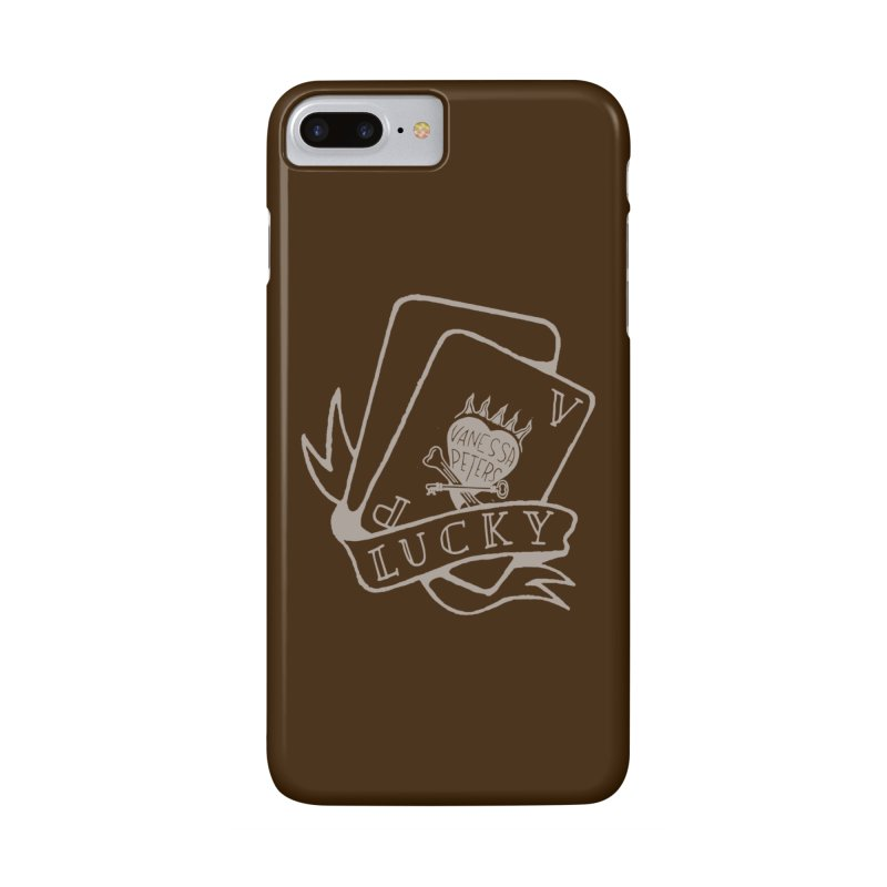 Lucky Cards Accessories Phone Case by Vanessa Peters's Artist Shop