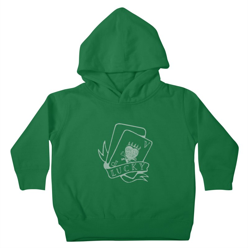 Lucky Cards Kids Toddler Pullover Hoody by Vanessa Peters's Artist Shop