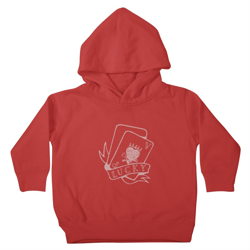 Lucky Cards Kids Toddler Pullover Hoody by vanessapeters's Artist Shop