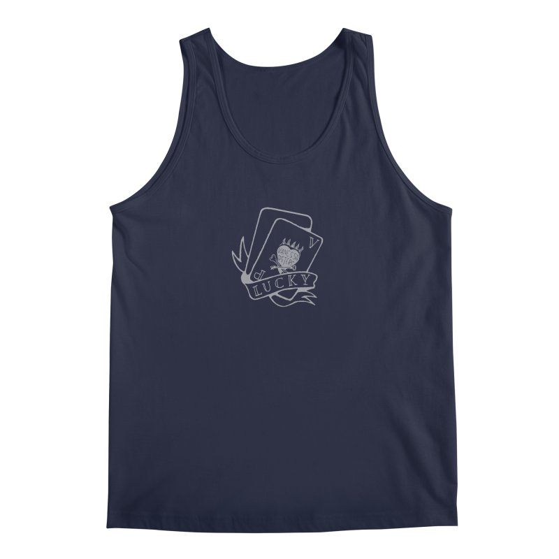 Lucky Cards Men's Regular Tank by Vanessa Peters's Artist Shop