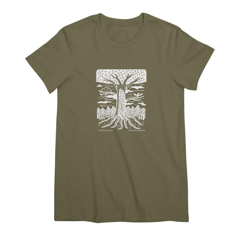 Foxhole Prayers Women's Premium T-Shirt by Vanessa Peters's Artist Shop
