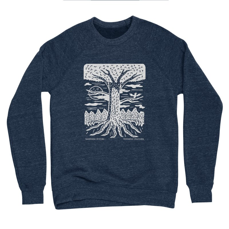 Foxhole Prayers Men's Sponge Fleece Sweatshirt by Vanessa Peters's Artist Shop
