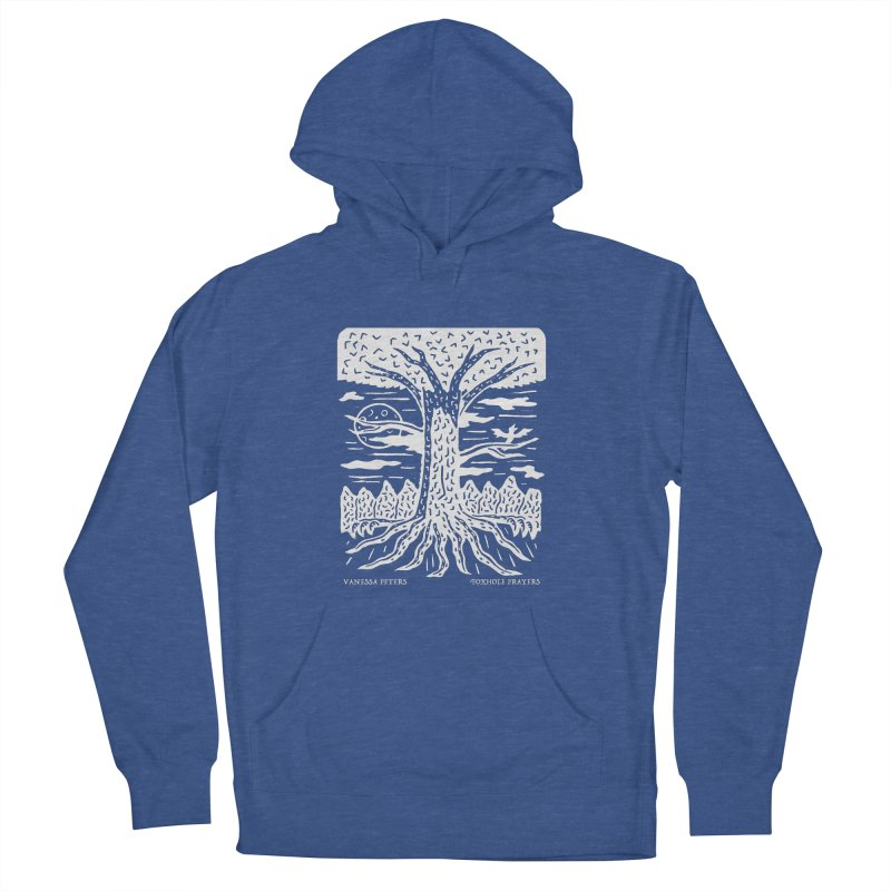 Foxhole Prayers Men's French Terry Pullover Hoody by vanessapeters's Artist Shop