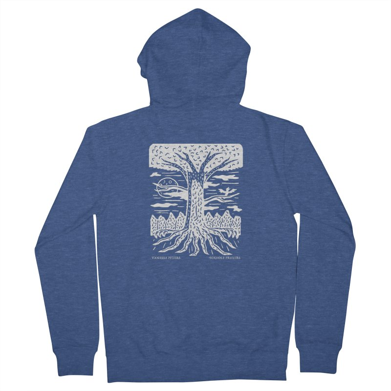 Foxhole Prayers Men's Zip-Up Hoody by Vanessa Peters's Artist Shop
