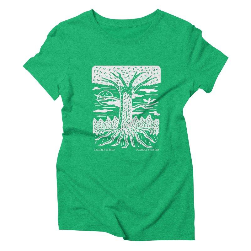 Foxhole Prayers Women's Triblend T-Shirt by Vanessa Peters's Artist Shop