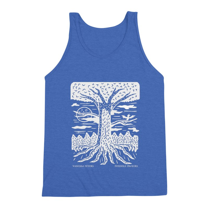 Foxhole Prayers Men's Triblend Tank by Vanessa Peters's Artist Shop