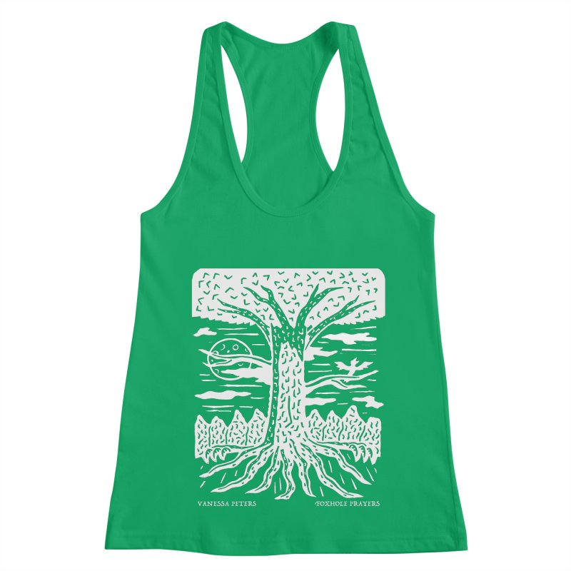 Foxhole Prayers Women's Racerback Tank by Vanessa Peters's Artist Shop