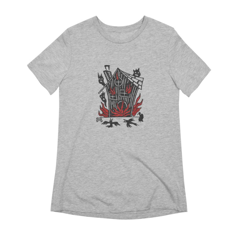 Before it Falls Apart Women's Extra Soft T-Shirt by Vanessa Peters's Artist Shop