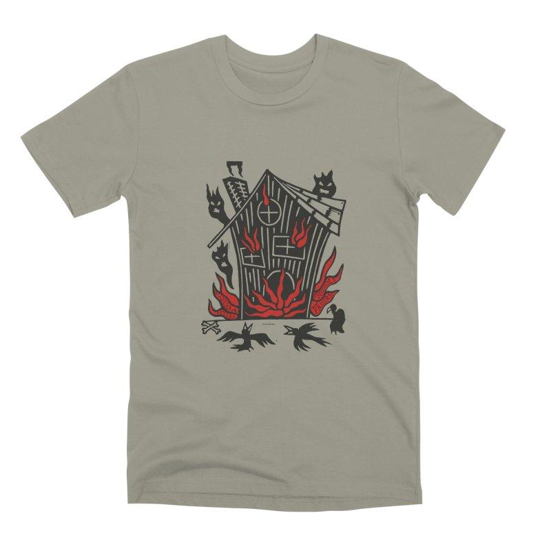 Before it Falls Apart Men's Premium T-Shirt by vanessapeters's Artist Shop