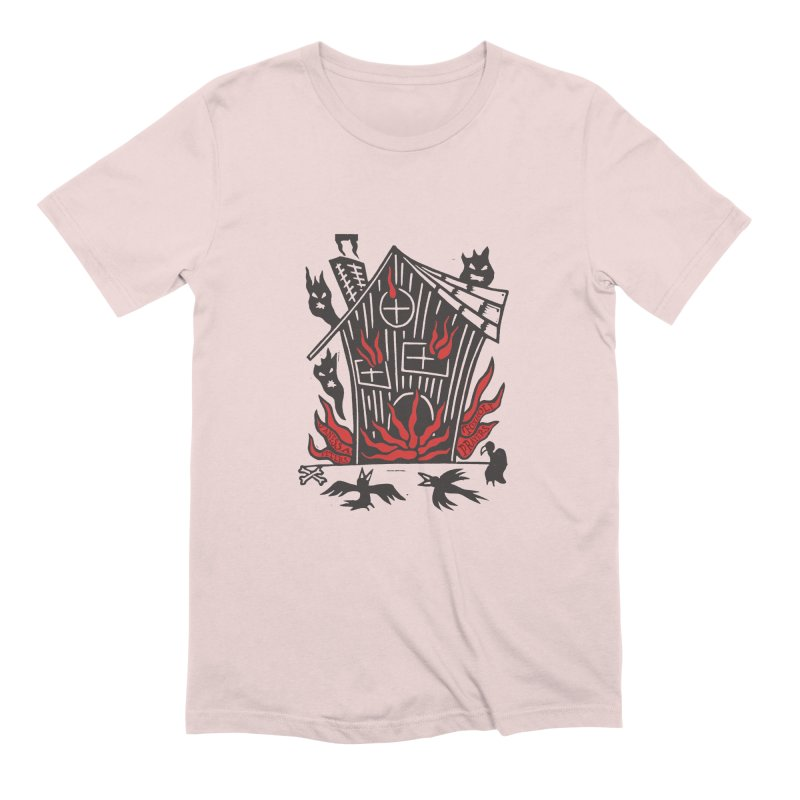 Before it Falls Apart Men's Extra Soft T-Shirt by Vanessa Peters's Artist Shop