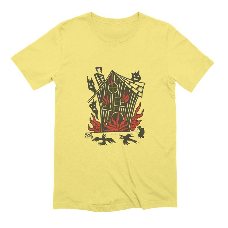 Before it Falls Apart Men's T-Shirt by Vanessa Peters's Artist Shop