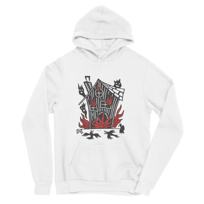 Before it Falls Apart Men's Sponge Fleece Pullover Hoody by Vanessa Peters's Artist Shop