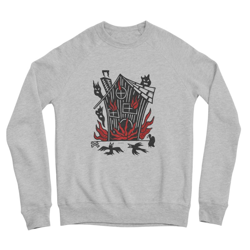 Before it Falls Apart Men's Sponge Fleece Sweatshirt by Vanessa Peters's Artist Shop