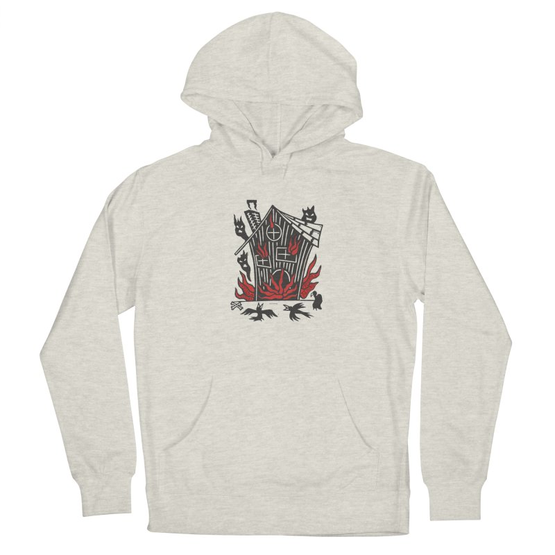 Before it Falls Apart Men's French Terry Pullover Hoody by Vanessa Peters's Artist Shop