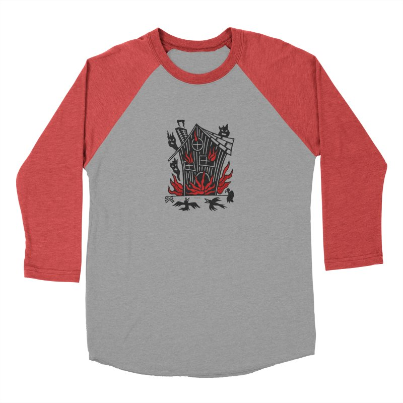 Before it Falls Apart Women's Baseball Triblend Longsleeve T-Shirt by Vanessa Peters's Artist Shop