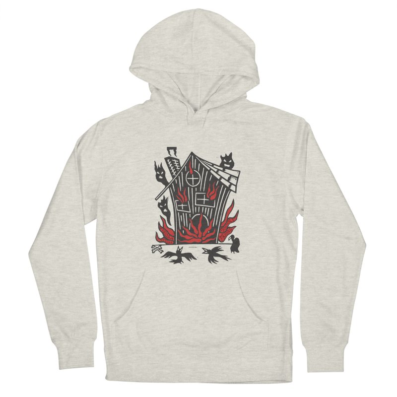 Before it Falls Apart Women's French Terry Pullover Hoody by Vanessa Peters's Artist Shop
