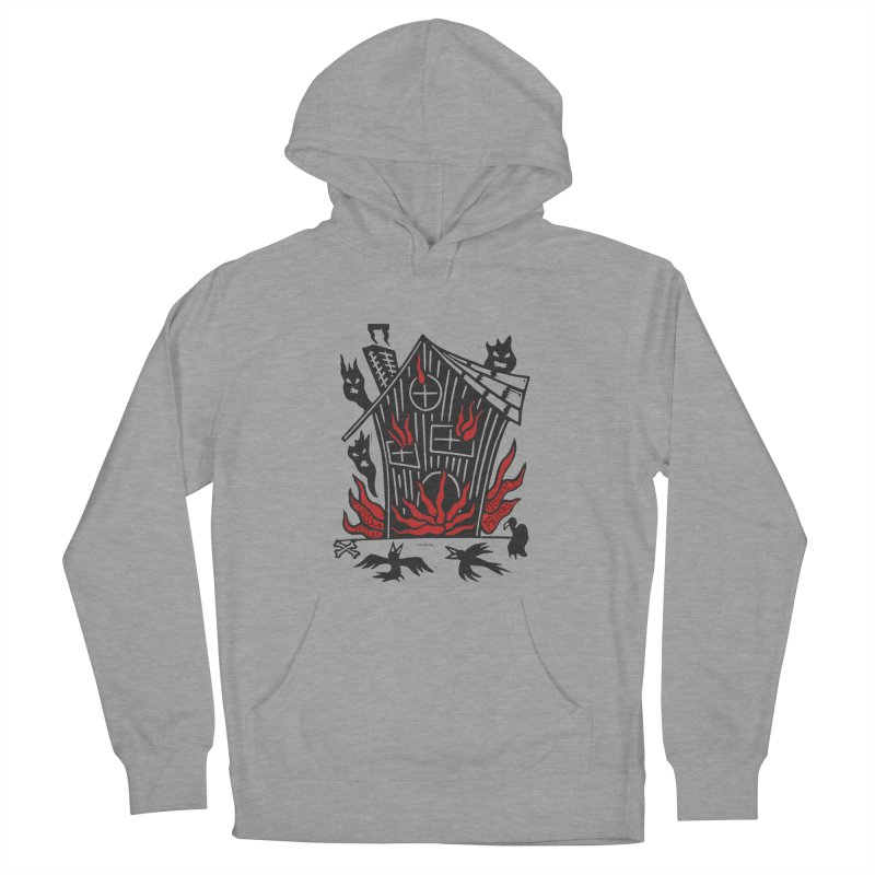 Before it Falls Apart Men's French Terry Pullover Hoody by vanessapeters's Artist Shop