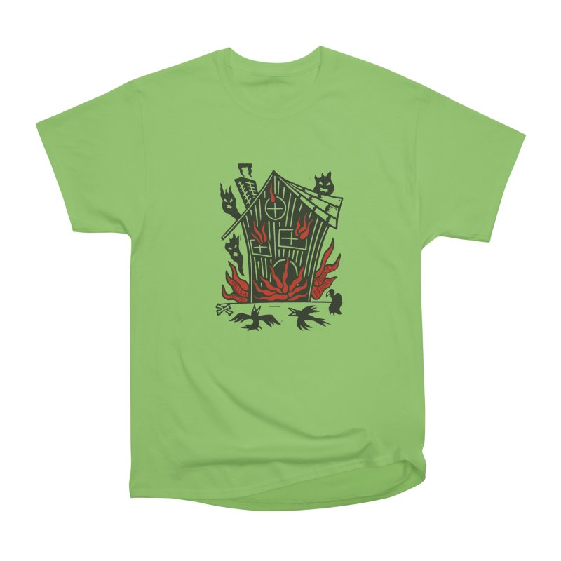Before it Falls Apart Women's Heavyweight Unisex T-Shirt by Vanessa Peters's Artist Shop